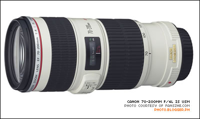 Canon 70-200mm f/4L IS USM
