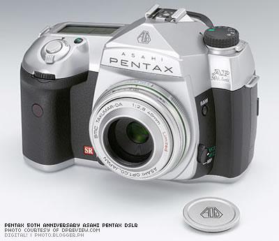 Pentax 50th Anniversary Asahi Pentax DSLR