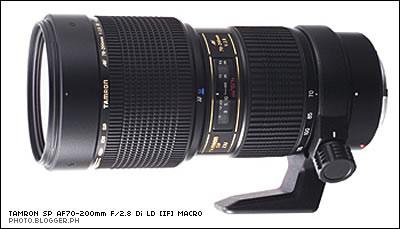 Tamron SP AF70-200mm F/2.8 Di LD [IF] Macro