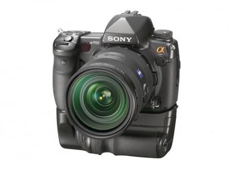 Full-frame Sony Alpha 900.