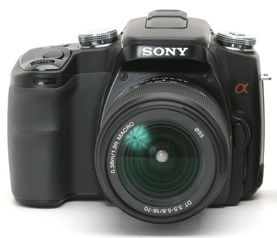 Sony Alpha DSLR-A100 (Photo courtesy of DPReview.com)